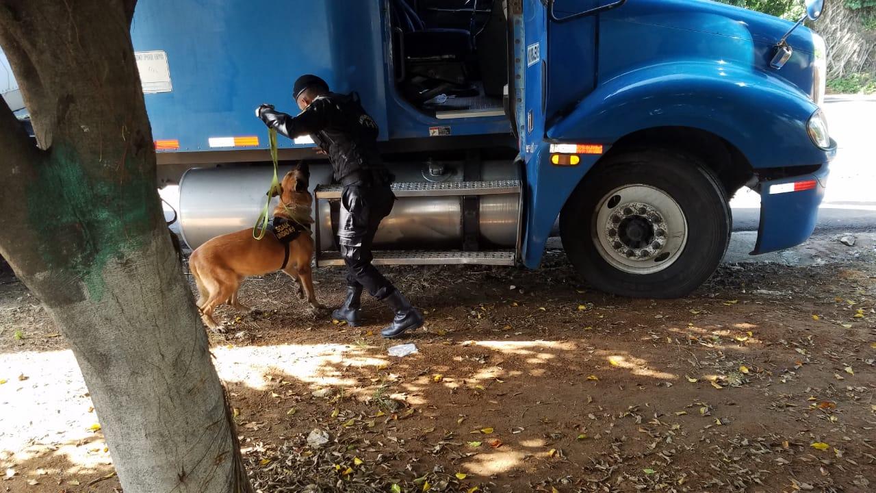 Operativo antinarcótico en Coatepeque, se incautó 4 paquetes con cocaína