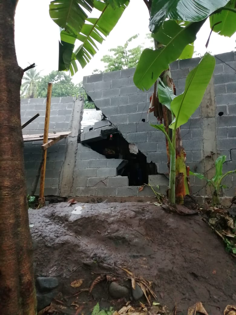Conred informa sobre efectos de lluvias en el país