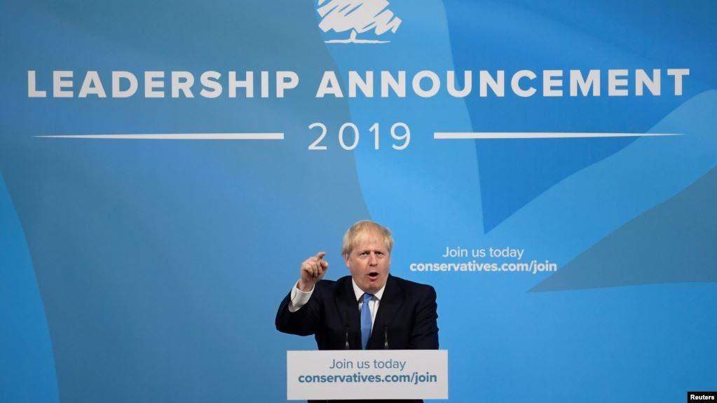 Boris Johnson gana la carrera para Primer Ministro de Gran Bretaña