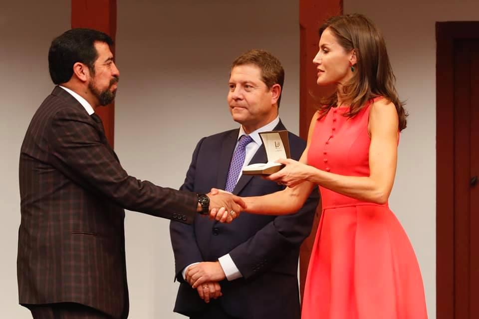 Salcajá recibe premio en España