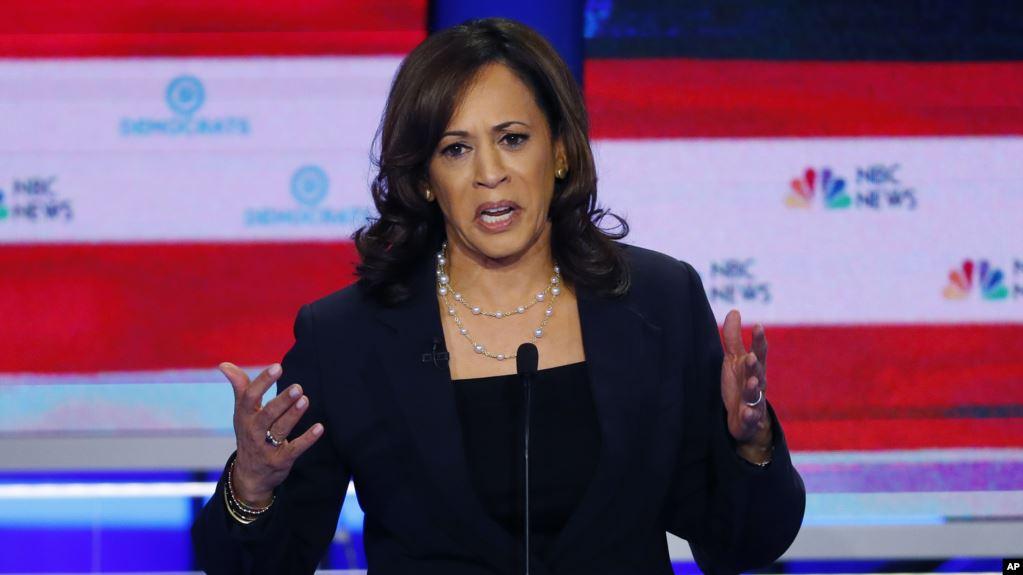 Kamala Harris recibe impulso en encuestas tras primer debate demócrata