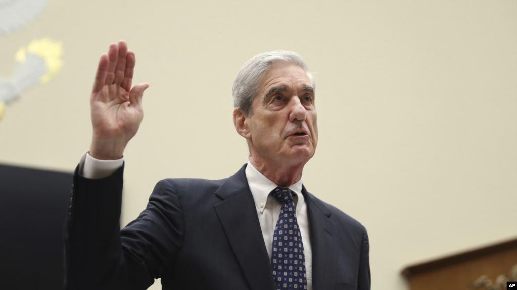 Mueller: Reporte no exonera a Trump de obstruir a la justicia