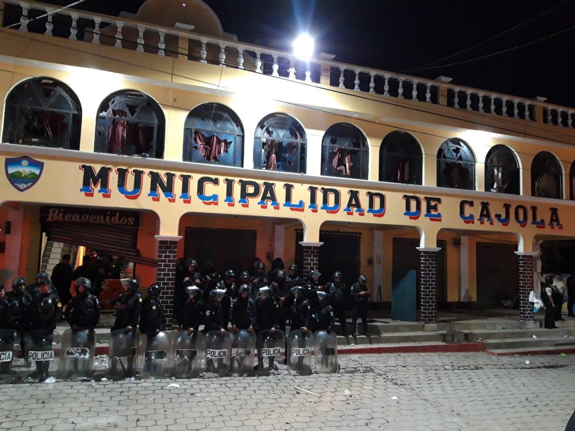 Agente de PNC pierde ojo tras conflicto electoral en Cajolá