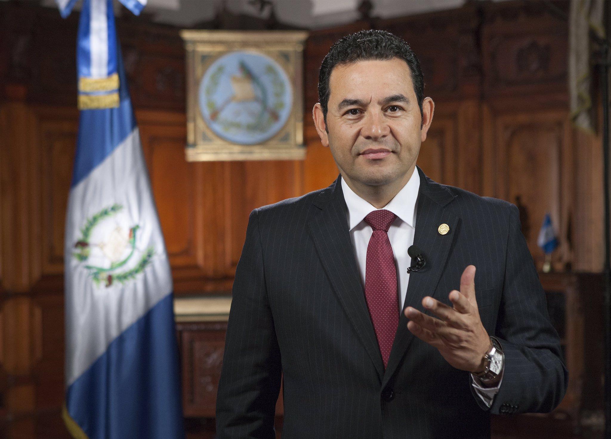 """Jimmy Morales culpa a la CC de """"intromisión"""" por acuerdo de Tercer País Seguro"""