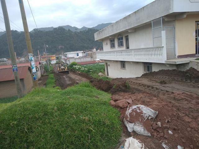 ¿Cuántas viviendas fueron afectadas en el Valle de Palajunoj por lluvias?