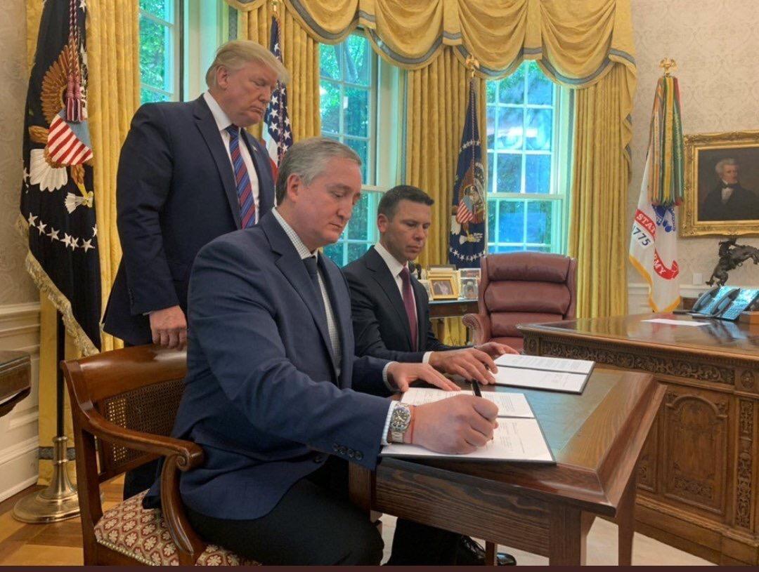 Urgente   Guatemala firma acuerdo migratorio con Estados Unidos
