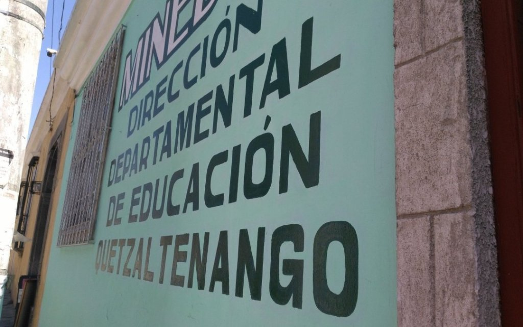 Inversión en alimentación de la DIDEDUC Quetzaltenango