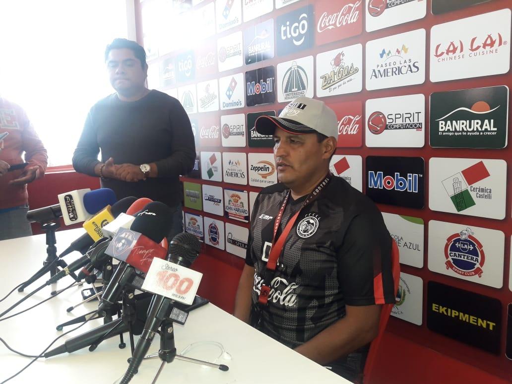 Lacho: «No quería ganarle a Xinabajul y resultar con dos o tres lesionados»