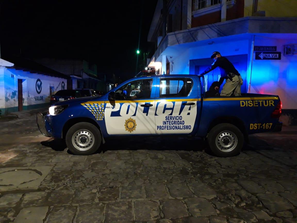 Capturan a hombre señalado de intentar abusar sexualmente de una mujer en la zona 1
