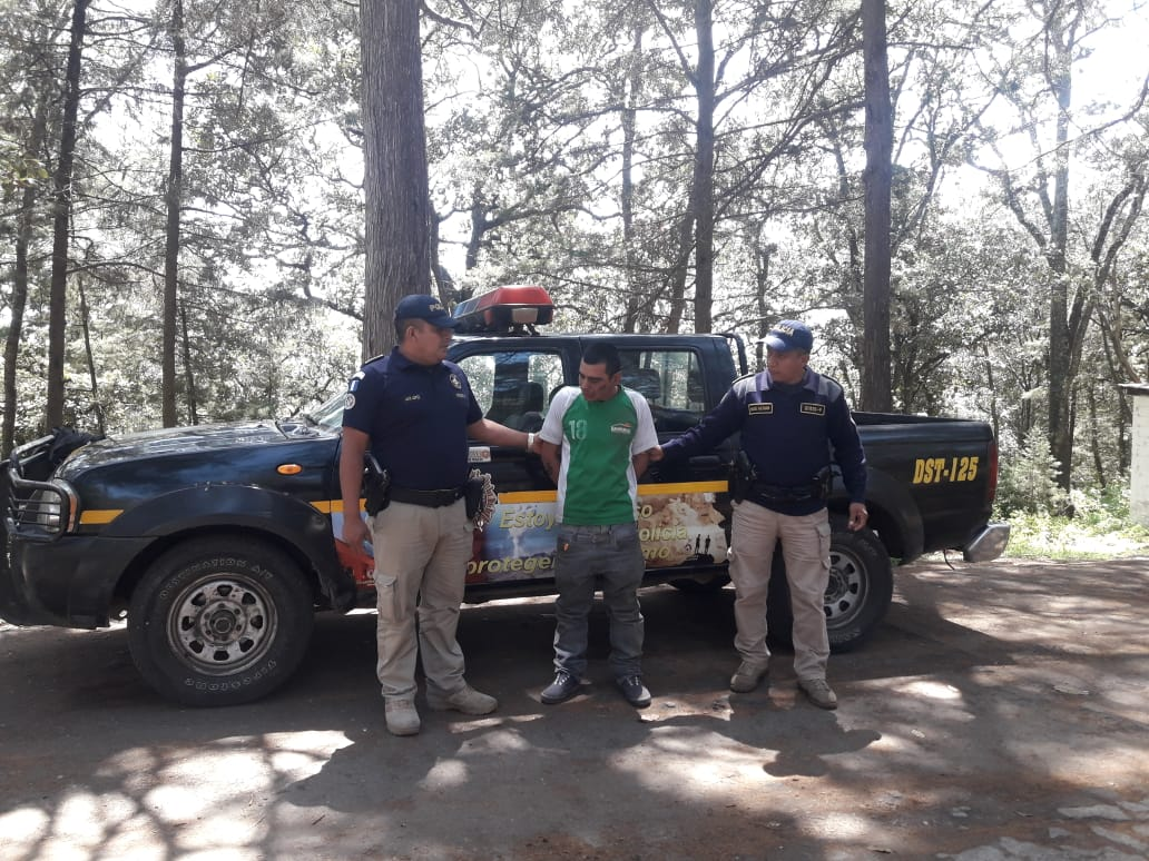 Capturan a salvadoreño ebrio, en el Cerro El Baúl