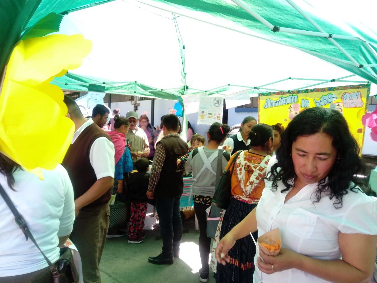 Actividades en el CAP de Quetzaltenango, por el Mes de la Salud Reproductiva