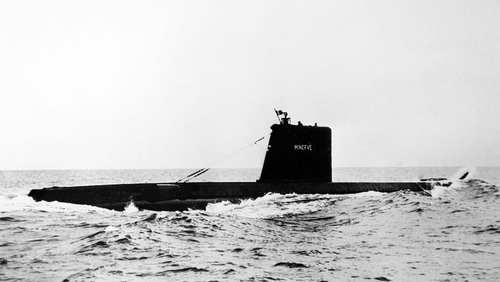 Encuentran el submarino 'La Minerve', desaparecido en 1968