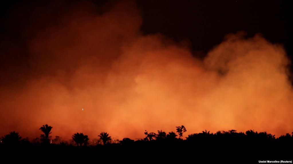 El Amazonas arde y el mundo pide acciones para salvar el pulmón del planeta