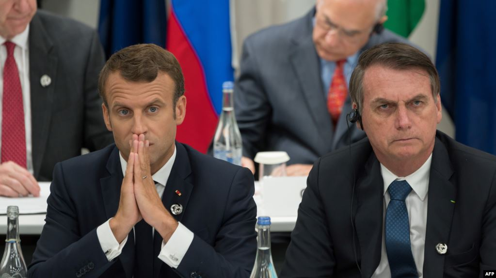 Bolsonaro condiciona aceptar ayuda para combatir incendios si Macron retira «insultos»