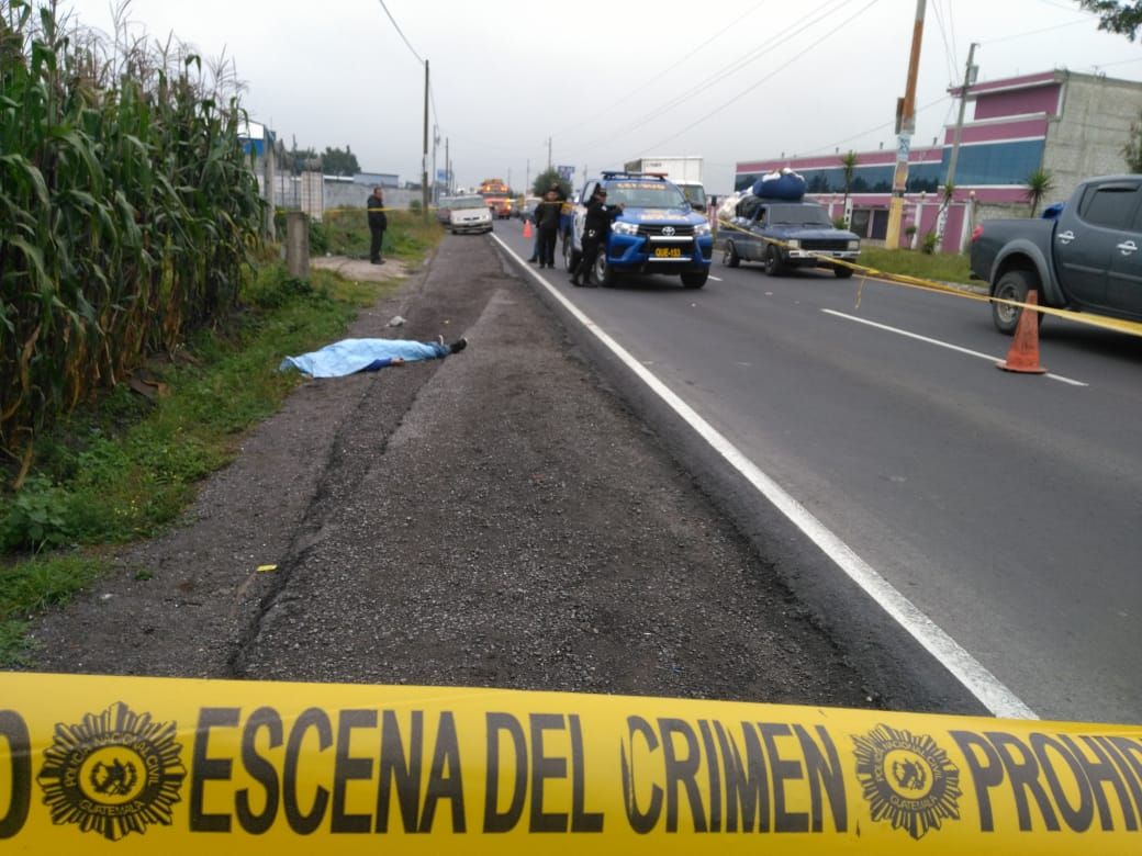 Identifican cadáver hallado en Salcajá