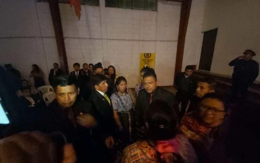 """Alcalde califica de """"mal ejemplo"""" acción de agrupaciones que opacaron elección de Umial Tinimit"""