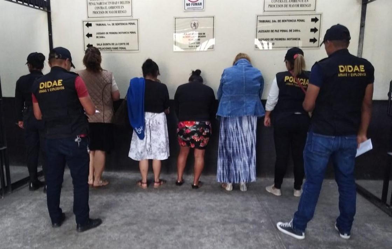 Capturan a cuatro mujeres durante operativos en Granja Penal Cantel