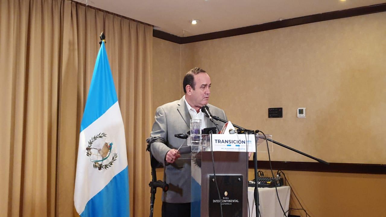 Giammattei desconocerá relación con el gobierno de Maduro