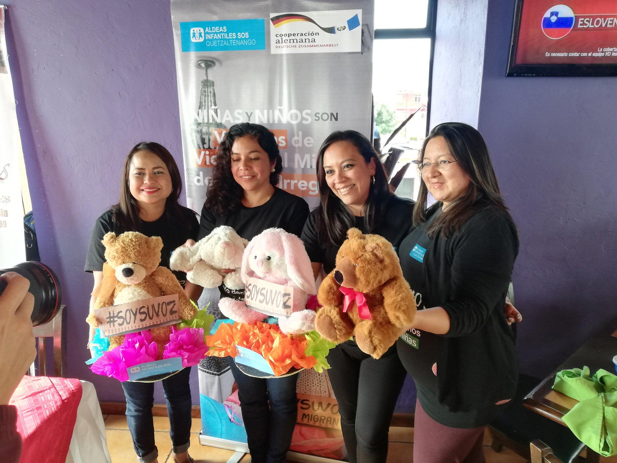 Conozca el objetivo de la recolección de peluches que organiza Aldeas Infantiles SOS