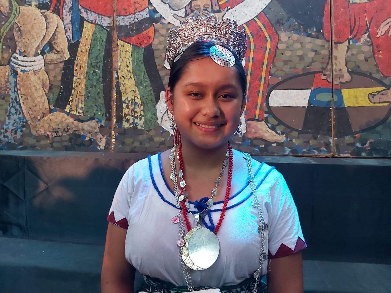 Representante de Sololá es la nueva Flor Nacional del Pueblo Maya
