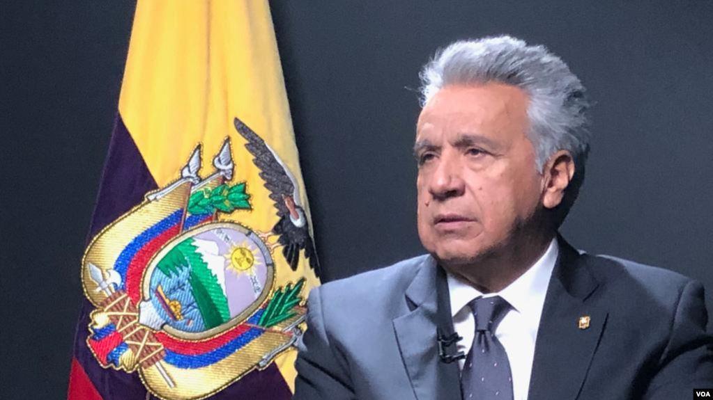 """Lenín Moreno no piensa dejar la presidencia: «Estoy tomando las decisiones correctas"""""""