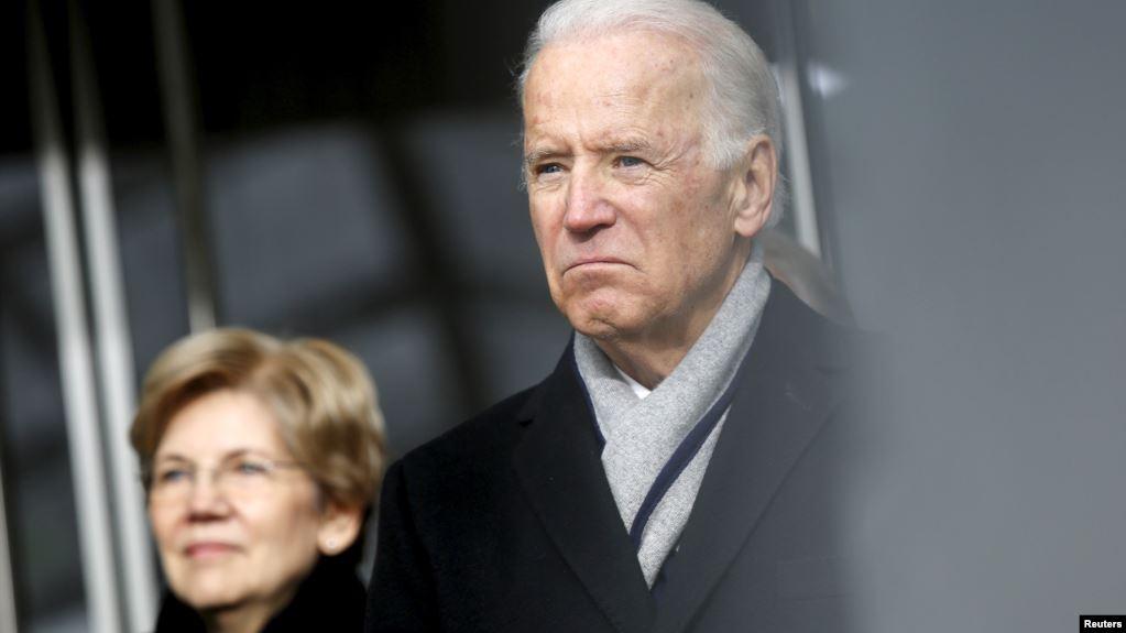 Encuestas muestran a Biden y Warren como los demócratas con más apoyo
