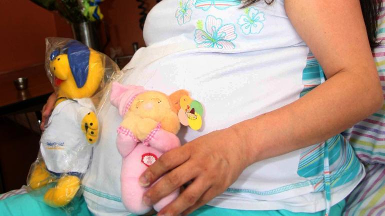 ¿Cuántos embarazos en menores de 14 años conoce el Área de Salud de Quetzaltenango?