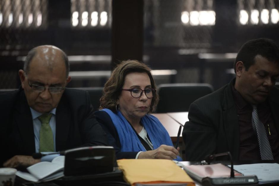 Detalles de decisión de jueza de ligar a proceso a Sandra Torres