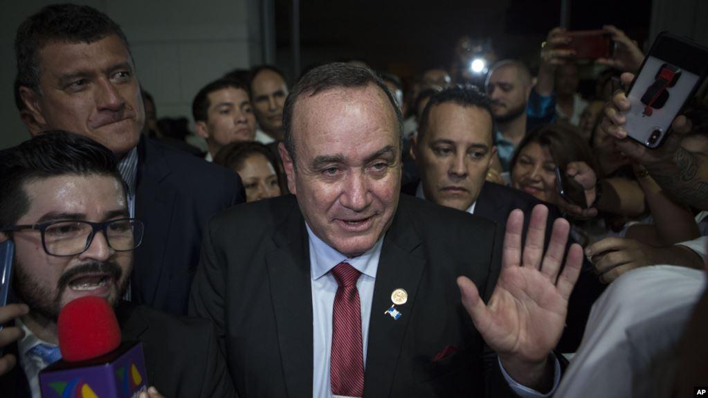 Presidente electo de Guatemala romperá relaciones con el gobierno en disputa de Maduro