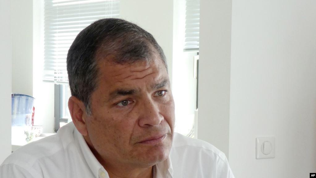 Ecuador: Tribunal ratifica prisión preventiva para el expresidente Rafael Correa