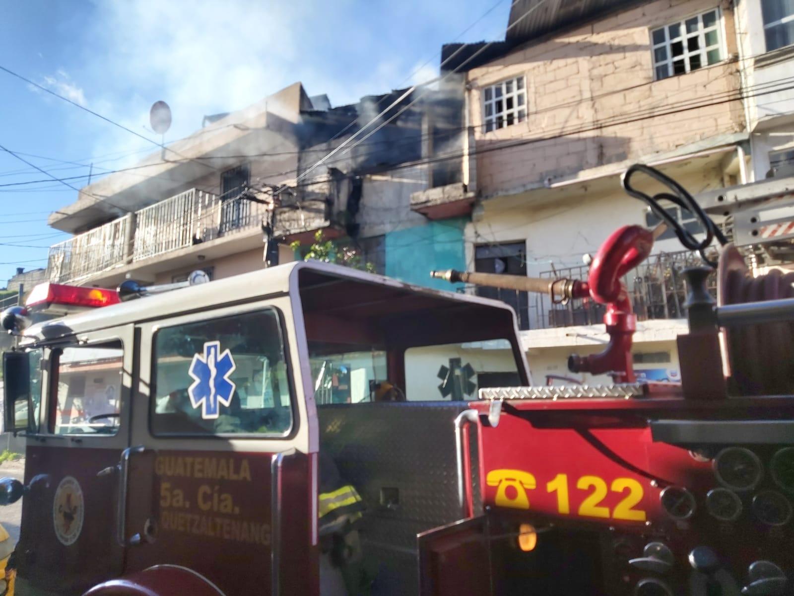¿A cuánto ascienden las pérdidas por incendio en la zona 3 de Xela?