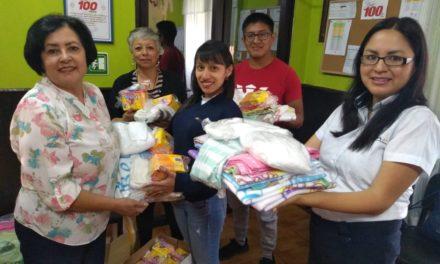 Renap apoya proyecto social Bolsitas de Ternura