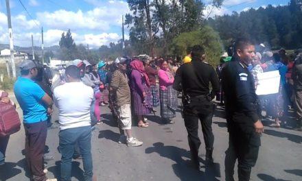 Surge conflicto entre cantón y aldea de Xela