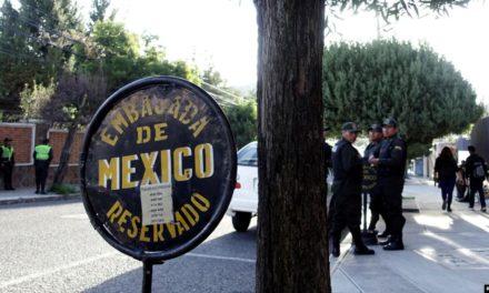 Sube tensión diplomática entre los gobiernos de México y Bolivia