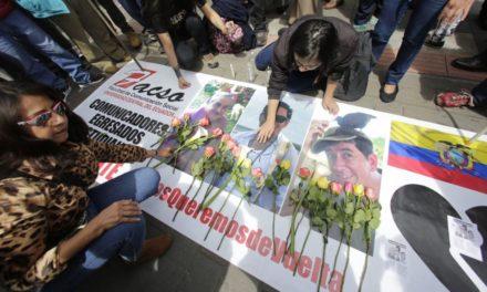 CIDH recomienda indemnizar a familias de periodistas asesinados en Ecuador en 2018