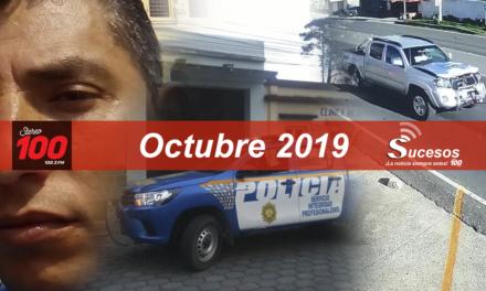 Octubre 2019. Los hechos más seguidos en Stereo 100, el resumen