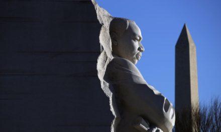 Fe y política mezclados en feriado de Martin Luther King Jr.