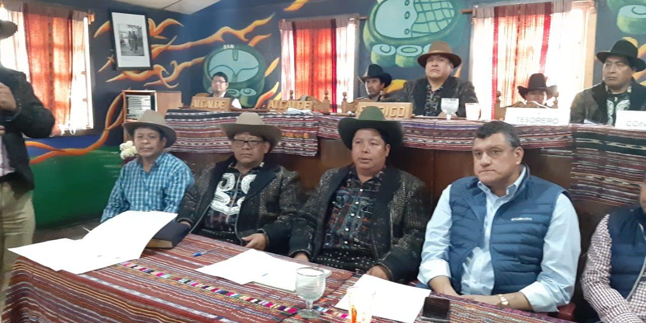 El vicepresidente de Guatemala visita Sololá