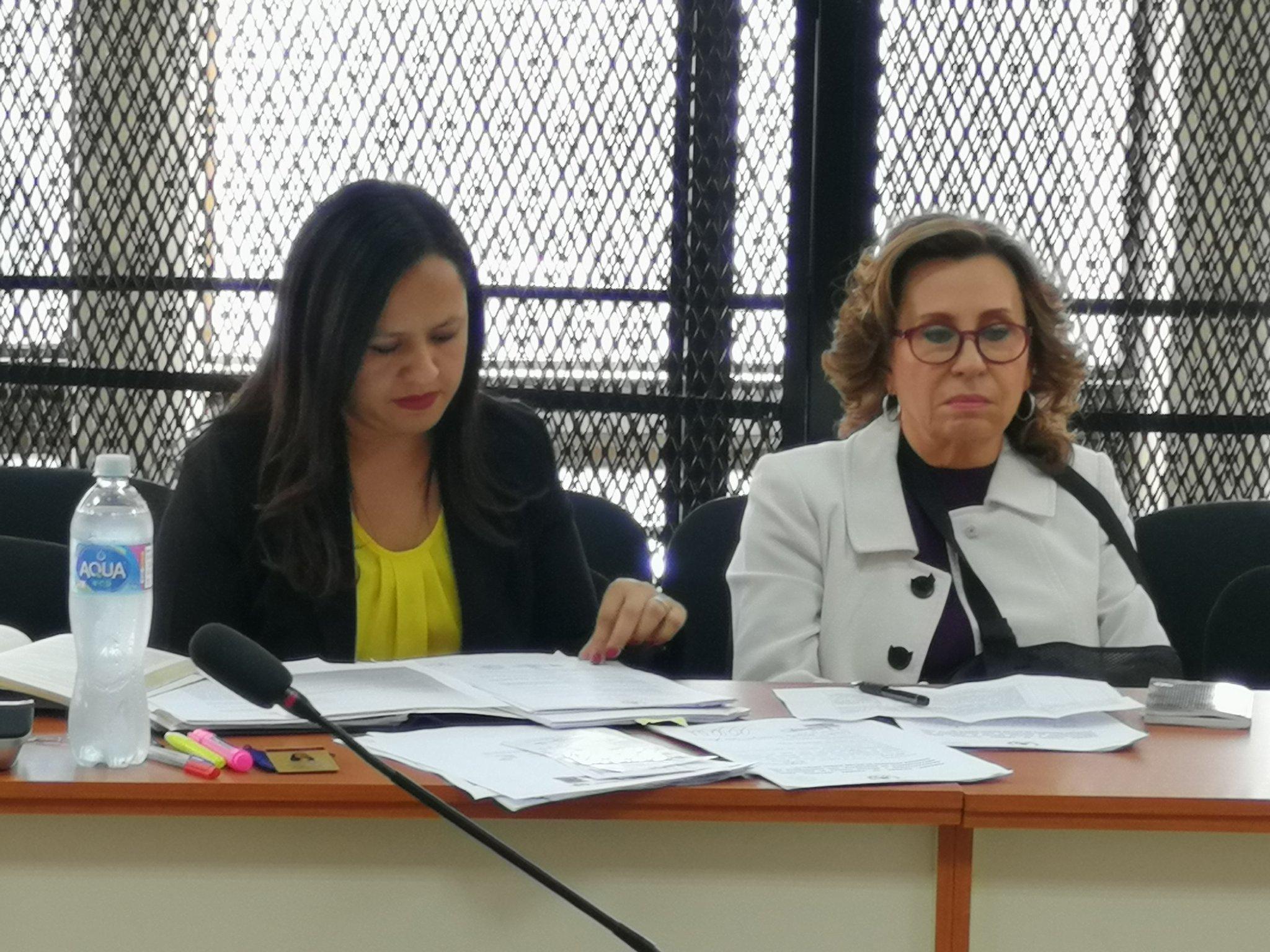 Sandra Torres: Confío en Dios y en la Justicia