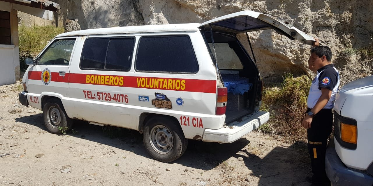 Les roban más de Q15 mil a Bomberos Voluntarios