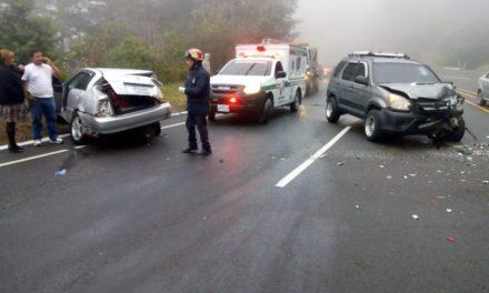 Tres accidentes se registran en la ruta Interamericana