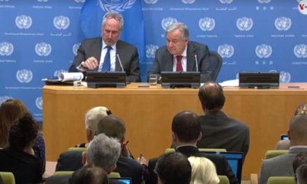 Guterres: Capacidad de la ONU es limitada para encarar crisis política en Venezuela