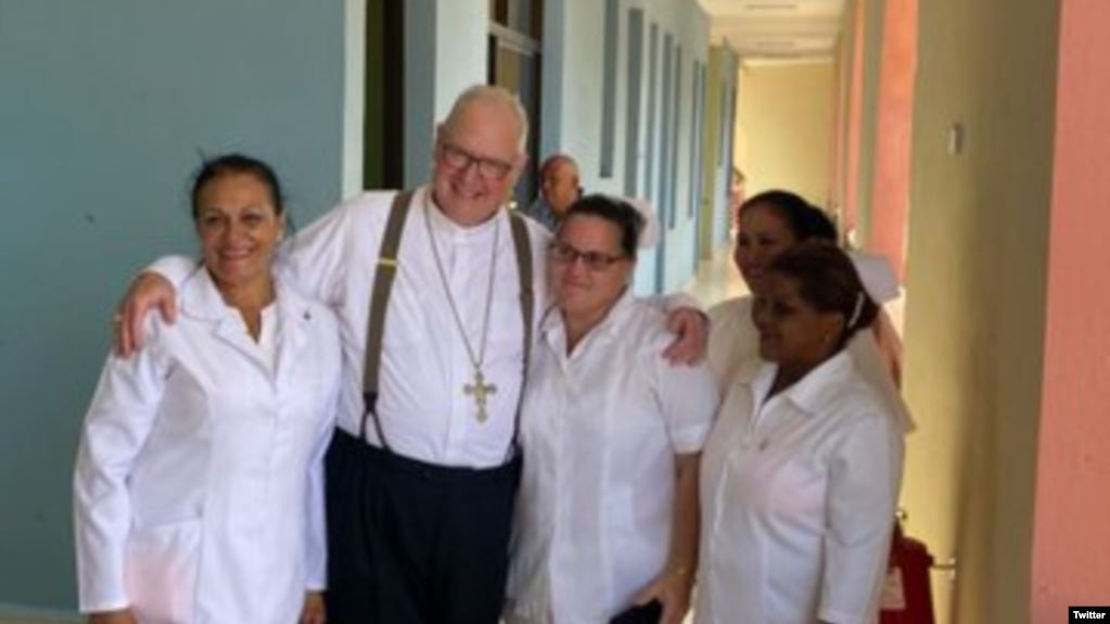 Cardenal de Nueva York Timothy Dolan visita Cuba