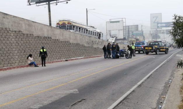 Joven motorista muere arrollado en Salcajá