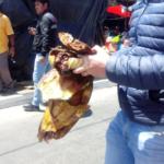 Decomisan carne de lagarto en El Calvario, zona 1 de Xela