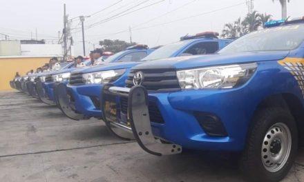 roban patrulla de la pnc. agentes dejaron las llaves puestas