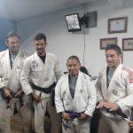 Instructores extranjeros capacitan a agentes de PNC en Xela