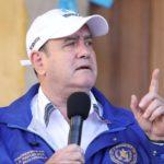 Alejandro Giammattei implementará estado de Prevención en Quetzaltenango