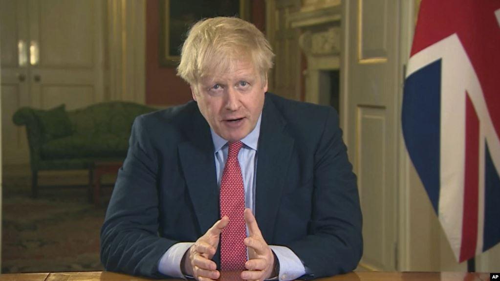 Primer ministro británico Boris Johnson contrae coronavirus