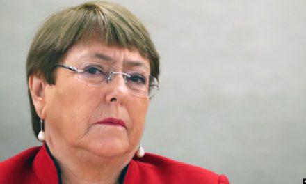 Bachelet pide aliviar sanciones para que sistemas médicos combatan COVID-19